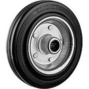 Колесо d=160мм, г/п 145кг, резина/металл, игольчатый подшипник, ЗУБР фото