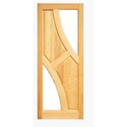 Дверное полотно Симетрия 2000х600х40 под стекло фото