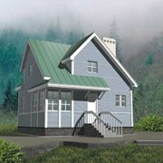Дом из бруса Д-21 фото