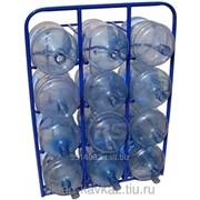 Стелаж для бутылей с водой, серия СВД. фото