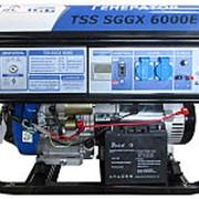 Бензогенератор TSS SGGX 6000E фото