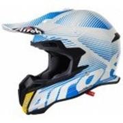 Airoh Кроссовый шлем TERMINATOR2.1 LEVELS голубой фото