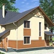 Дом из массивных деревянных стен по технологии Massiv-Holz-Mauer фото