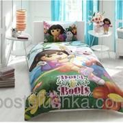 Детский комплект постельного белья Tac Disney Dora and Boots простынь на  резинке фото b88bff8ebe04e