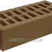 Кирпич облицовочный коричневый одинарный гладкий М-150 БКЗ фото