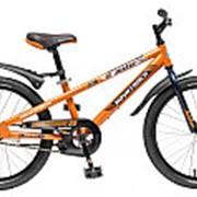 """Велосипед NOVATRACK 20"""" JUSTER оранжевый 203JUSTER.OR6 #098607 фото"""