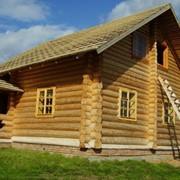 Деревянная дача фото