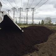Чернозем, торф, торфосмеси, почвогрунт с доставкой. фото