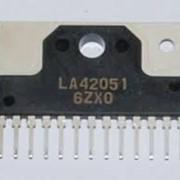 Микросхема ОУ, УНЧ, видео LA42032 фото