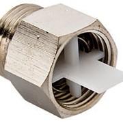 Клапан отсекающий для монтажа воздухоотводчика 1/2 дюйм Valtec VT.539, арт.15994 фото