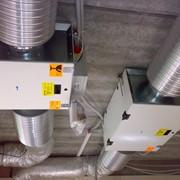 Очистка систем вентиляции от пылевых отложений фото