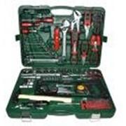 Набор инструментов 77 предметов 1/4 ,1/2 ,CrV S2, усилиный кейс М13556 фото