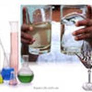 Анализ воды, контроль. фото