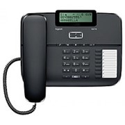 Телефон проводной Siemens Gigaset DA710 черный фото