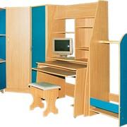 Стенка модульная Юниор, Мебель детская, Мебель детская бытовая фото