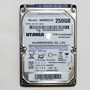 """Жесткий диск HDD 2,5"""" 250GB UTANIA MM802JS фото"""