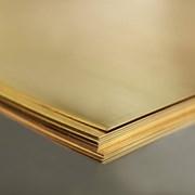 Лист латунный 4x600x1500 Л63М фото