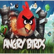 ANGRY BIRDS 03P X-Game коврик для мыши, Цветная картинка фото