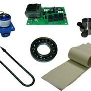 Запчасти и комплектующие для прачечного оборудования и химчисток.