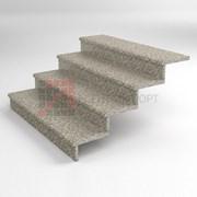 Гранитный ступени на крыльцо G603 1200*350*30 термообработка фото