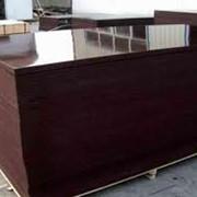 Фанера Ламинированная 18мм 2 сорт коричневые фото