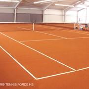 Спортивные покрытия CONICA для теннисных кортов и площадок для игр с мячом фото