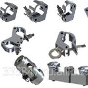 Крепеж Элементы крепления/подвеса оборудования (хомуты, струбцыны), кронштейны, опоры. фото