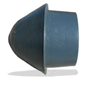 Заглушка пластиковая на обсадную трубу фото