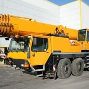 Аренда автокрана, крана Liebherr LTM 1080 80 тонн фото