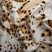 """Хлопок-стретч """"Леопард"""" течворк фото"""