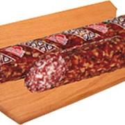 Колбаса сыровяленая салями Деликатесная высший сорт фото