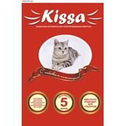 """Древесный наполнителель """"KISSA"""" для туалетов домашних животных фото"""
