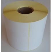 Термоэтикетки 100*150, 500 этикеток в роле. фото