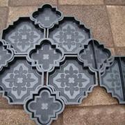 Тротуарные плитки и формы фото