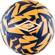Umbro Мяч футбольный Heo Copa 20856U р.4 оранжевый/синий/белый фото