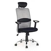 Кресло компьютерное Halmar DANCAN (серо-черный) фото