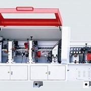 Автоматический кромкооблицовочный станок проходного типа фото