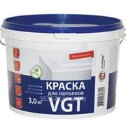 Краска ВГТ для потолков акриловая ВД-АК-2180 Белоснежная 15 кг фото