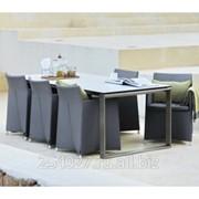 Комплект элитной мебели для столовой Diamond Tex Grey фото