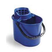 Ведро для мытья полов 12 л с решеткой-отжимом ACG