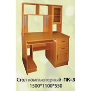 Стол компьютерный Пк-3 фото