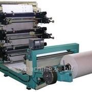 Флексопечатная машина для запечатки и вырубки заготовок из рулона FD-980 фото