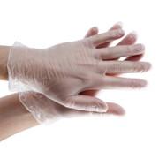 Перчатки виниловые р-р L (100пар) 1пара фото