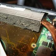 Чистка ноутбуков от пыли, замена термопасты фото