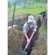 Рытье траншей услуги землекопа в алматы фото
