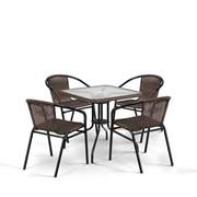 Комплект плетеной мебели Асоль-3 фото