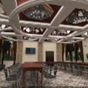 Выполнение 3-D визуализации дизайна интерьеров помещений фотография