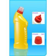 Пластиковый флакон под средства для унитазов Ф71 фото