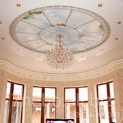 Натяжные потолки с фотопечатью «Небосвод». фото