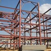 Металлоконструкции строительные стальные по спецификации заказчика фото